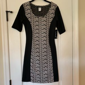 NWT Black & White Dress 👗